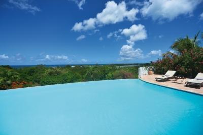 7 Bedroom Villa with Infinity Pool overlooking Long Beach - Image 1 - Baie Longue - rentals