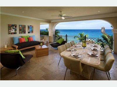 3 Bedroom Beachfront Condo in Paynes Bay - Image 1 - Paynes Bay - rentals