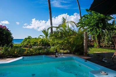 Luxury 2 Bedroom Beachfront Condo with View in St. James - Image 1 - Saint James - rentals
