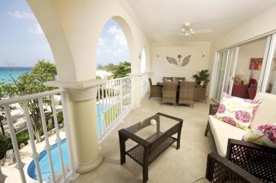 Luxury 3 Bedroom Beachfront Apartment in Christ Church - Image 1 - Christ Church - rentals