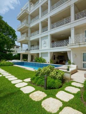 3 Bedroom Apartment with Pool in Paynes Bay - Image 1 - Paynes Bay - rentals