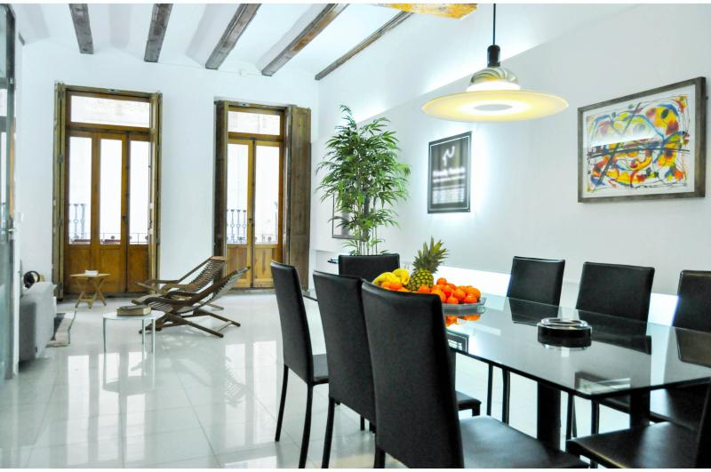 The dining room - Art Gallery Apartment In The Center - Valencia - rentals
