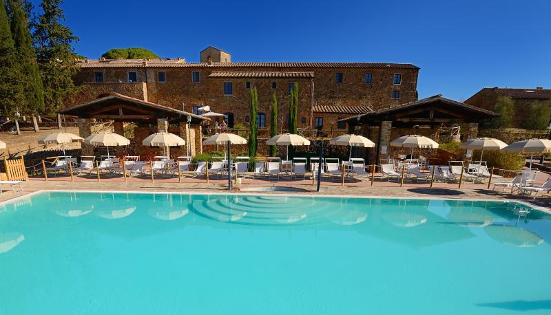 Swimming pool - Suggestive holiday house with pool and tennis - Campiglia Marittima - rentals