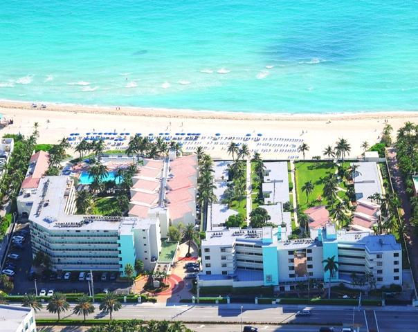 Aerial map - 2 Bedroom condo on  beach -Limited time offer!! - Sunny Isles Beach - rentals