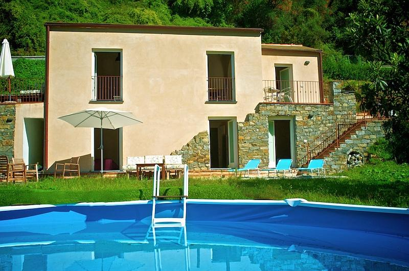 Vacation house rental with pool near Levanto, Liguria Italy - New modern and cosy house with private pool - Levanto - rentals