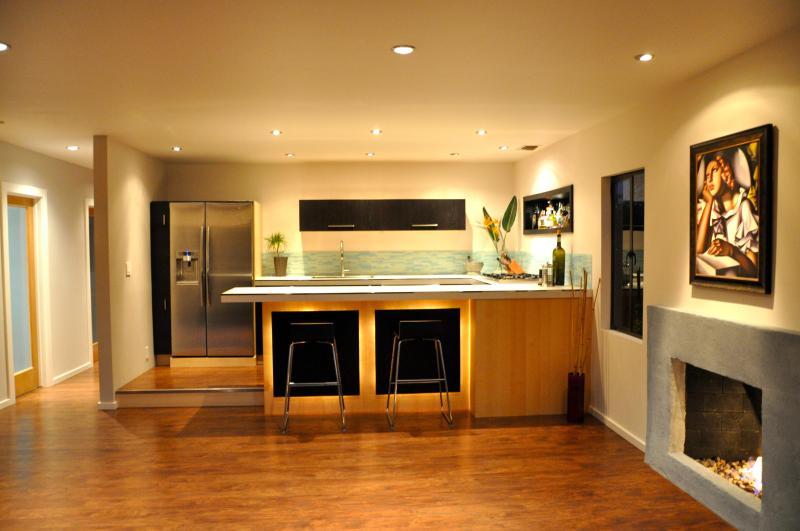 Kitchen from front door - Great Beach House - San Clemente - rentals