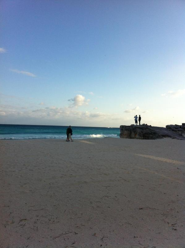 Beach Waterfront Ground Floor Suite For Sea Lovers - Image 1 - Cancun - rentals