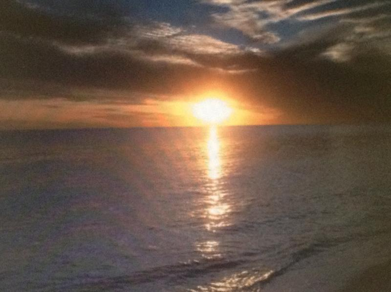 Subset from Balcony - The Summit Condo Panama City Beach Awesome View - Panama City Beach - rentals