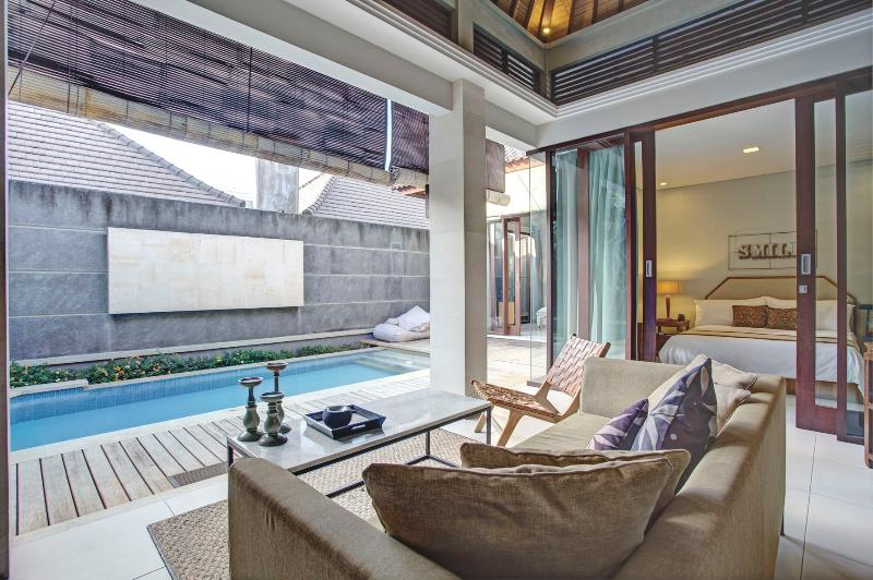 View to Pool - Ikona Villa Seminyak  (2 BR) with Private Pool - Kuta - rentals