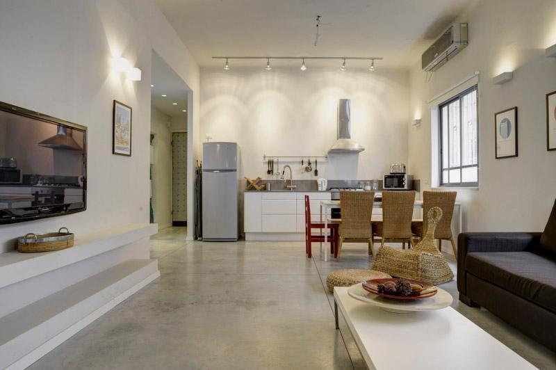 2 Bdr Apartment,Central Tel Aviv, by the Beach. - Image 1 - Tel Aviv - rentals