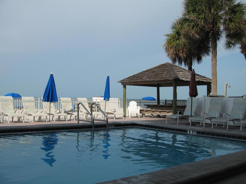 Heated Pool and Pavilion - Beachfront Luxury at Seaview, Madeira Beach - Madeira Beach - rentals