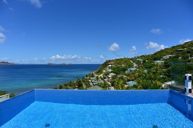 Stylish 3 Bedroom Villa Overlooking the Ocean in Pointe Milou - Image 1 - Pointe Milou - rentals