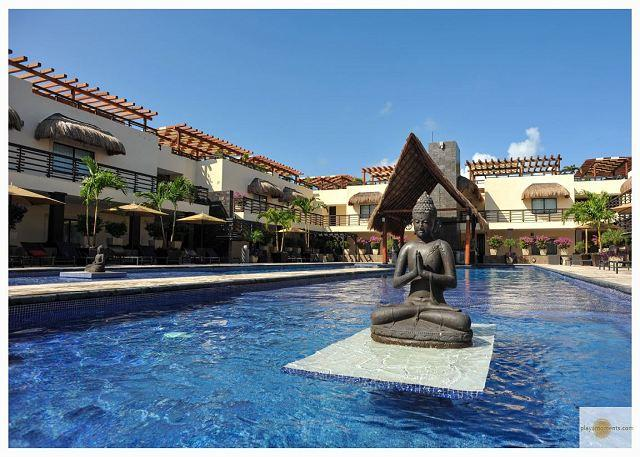 ALDEA THAI BEAUTIFUL CONDO with enormous terrace & private pool-Mamitas Beach - Image 1 - Playa del Carmen - rentals
