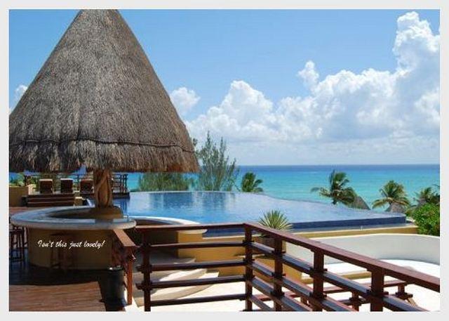 AMAZING PENTHOUSE- PRIVATE POOL!! Steps from Shangrila beach caribbean sea - Image 1 - Playa del Carmen - rentals