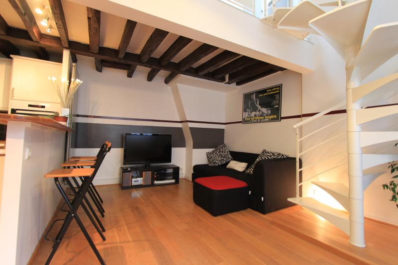 Modern Paris Duplex at Beaubourg - Image 1 - Paris - rentals