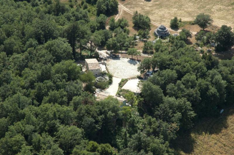 veduta aerea - Stone House in Majella National Park Picchio rosso - Abbateggio - rentals