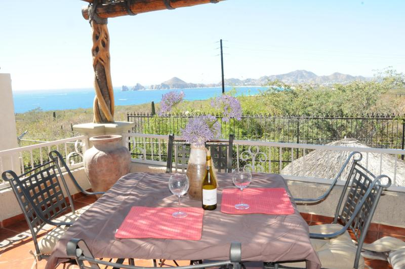 Enjoy a drink as you relax and enjoy the view - Beautiful 4 bedroom Villa in Gated Community - Cabo San Lucas - rentals