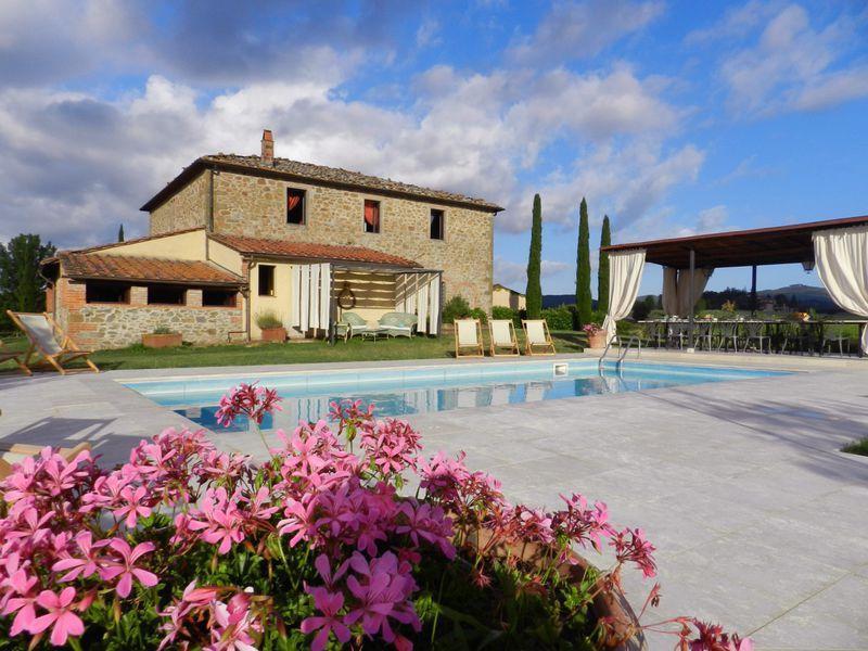 Villa Toscana a jewel in the heart of Chiantishire - Image 1 - Montebenichi - rentals
