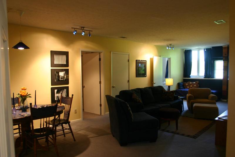 Living /Dining Area - Penthouse Apartment - Louisville - rentals