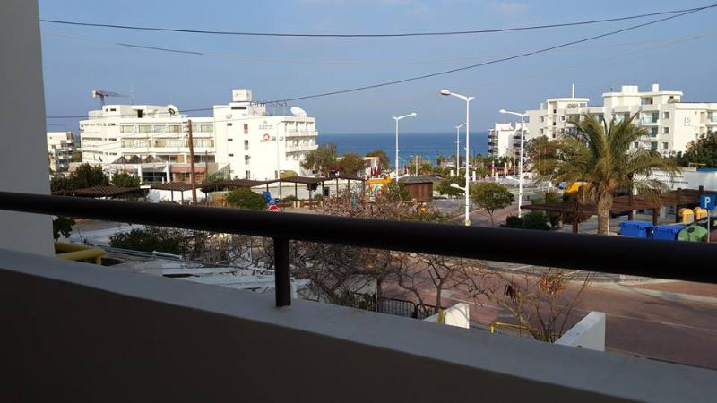 Sea view from the apartments' balcony right in the centre of PROTARAS !!!! - 2 Bedroom Sea View Apartment in PROTARAS CENTRE!!! - Protaras - rentals