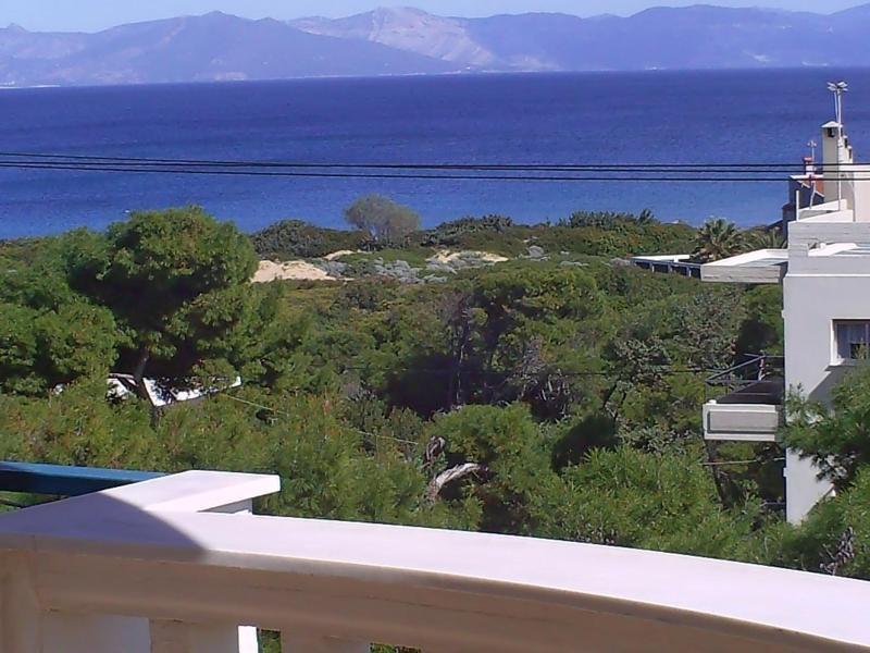 sea view from the balcony - Sea view in Rafina - Rafina - rentals