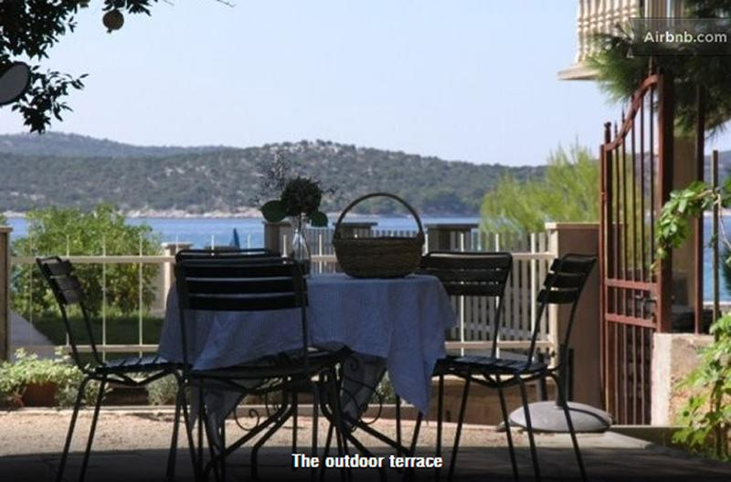 a yard with a seaview - A yard with sea view - Zaboric - rentals