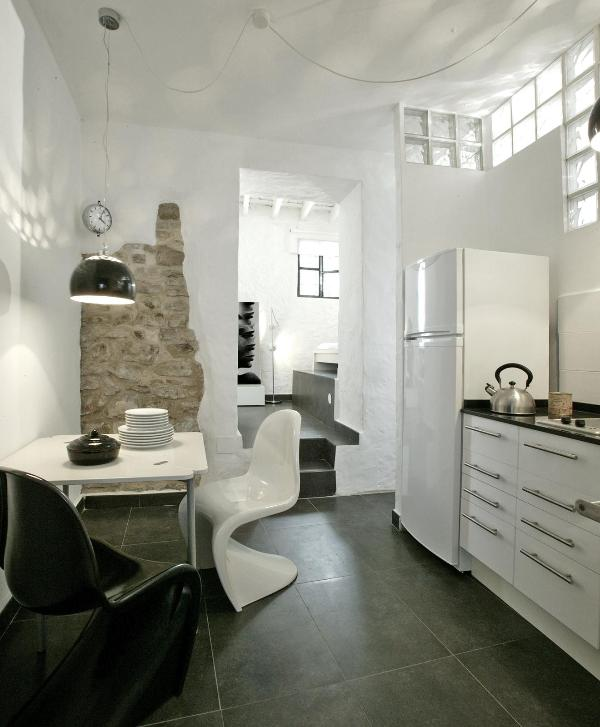 kitchen - suite with garden in the historic center - Tarifa - rentals