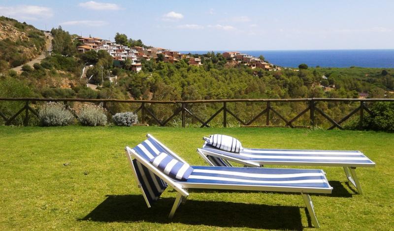 Villetta Sea Dream - fabulous sea view and garden - Image 1 - Chia - rentals