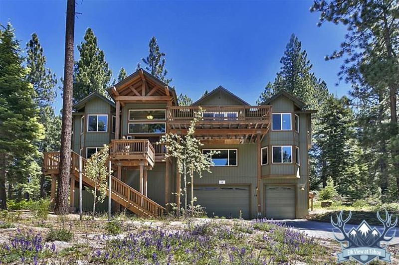 Elk View at Tahoe - Summer - Awesome 6-br Luxury Home, 3400 Sq Ft, Hot Tub - South Lake Tahoe - rentals