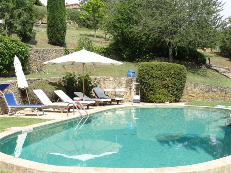 Capriola Pergola: A Delightful  Country Villa  with set in Gardens and Pool in  Southern Tuscany , - Image 1 - Capalbio - rentals