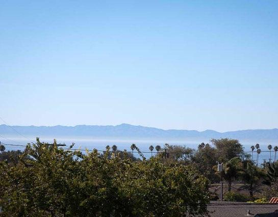 View from the Balcony - Casitas Oceano - The Upper Bungalow - Santa Barbara - rentals