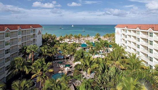 2 Bedroom at Marriott`s Aruba Ocean Club - Image 1 - Palm/Eagle Beach - rentals