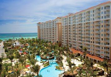 2 Bedroom at Marriott`s Aruba Surf Club - Image 1 - Palm/Eagle Beach - rentals
