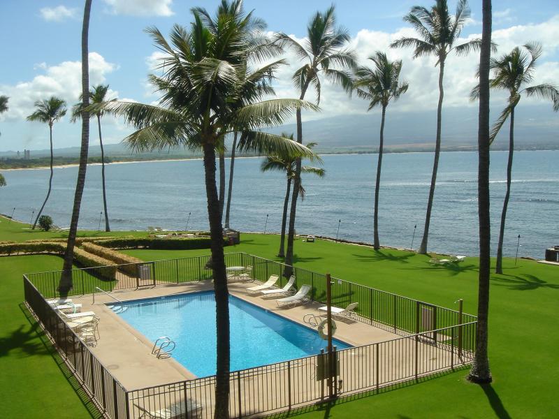 View from Lanai - Oceanfront, 2br, 2bath, Great View, Amenities! - Wailuku - rentals