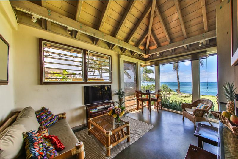 Oceanfront Ginger Cottage 20% OFF JULY 14-24th! - Image 1 - Paia - rentals
