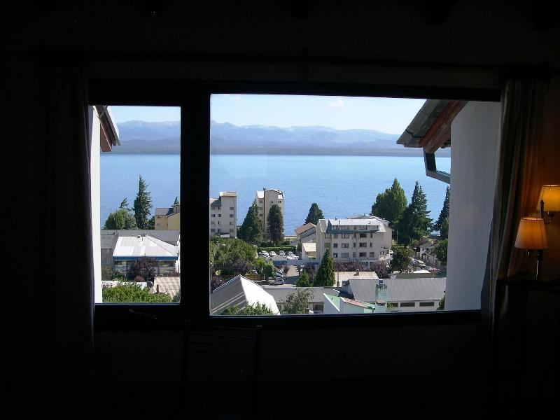 View from inside - Central city appartment with an spectacular view - San Carlos de Bariloche - rentals