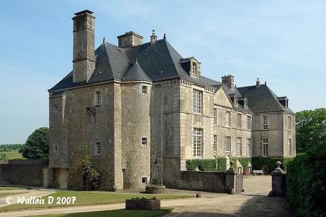 North View - Historic XVII century castle in Normandy - Fontenay-sur-Mer - rentals