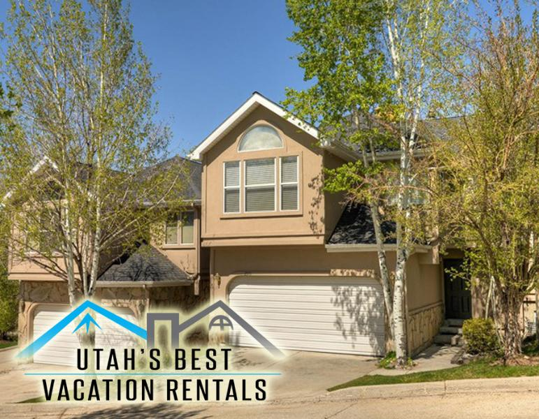 Front exterior Oaks at Wasatch Cottonwood Heights vacation townhome community by Big Cottonwood Cyn - Summer Deal $139/nt Mins to Snowbird Summer Resort - Snowville - rentals