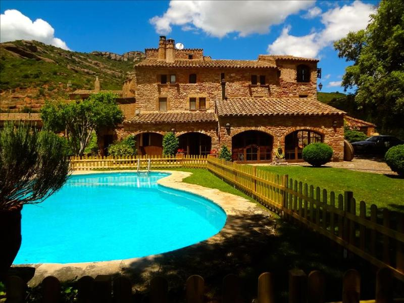 Masia Sant Llorenç in the forest of a Spanish national park for 18 guests - Image 1 - Sant Llorenc Savall - rentals