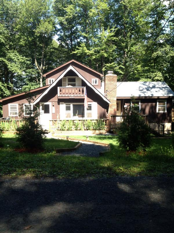 front of the house - ONE OF A KIND! - Pocono Lake - rentals