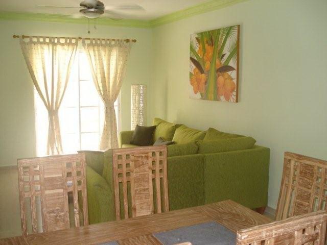 Living Room - Palm Suites E-1 Stylish & Charming Condo Near the Beach - Punta Cana - rentals