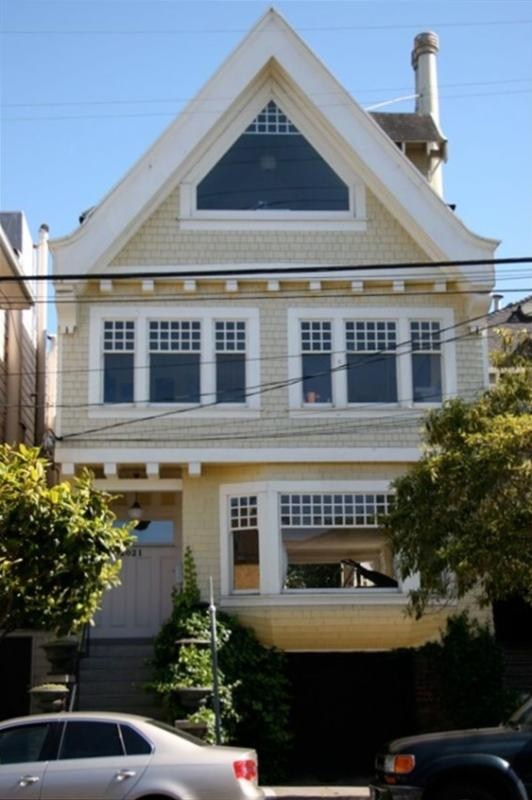 Front of house - Premier Victorian with GG Bridge View - San Francisco - rentals