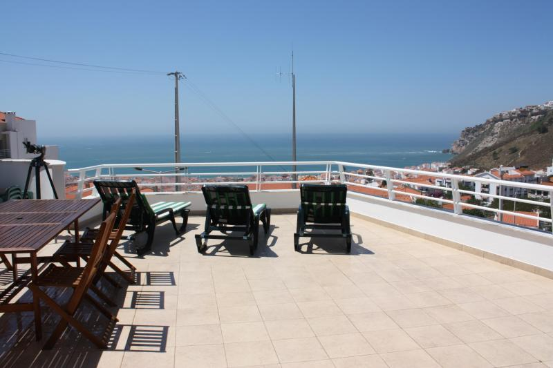 Large Terrace - Spectacular Ocean View, Walking Distance to Beach - Nazare - rentals