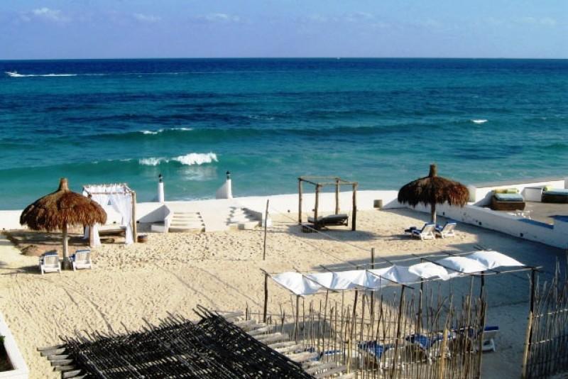 MAYA - SECR6  pure powder white sand beachfront - Image 1 - Paamul - rentals