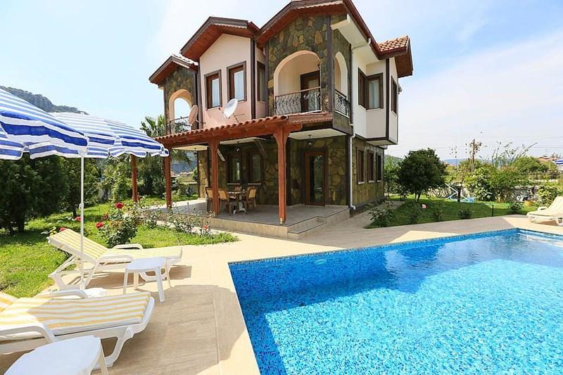 Luxury villa,large private pool,beautiful garden,f - Image 1 - Dalyan - rentals