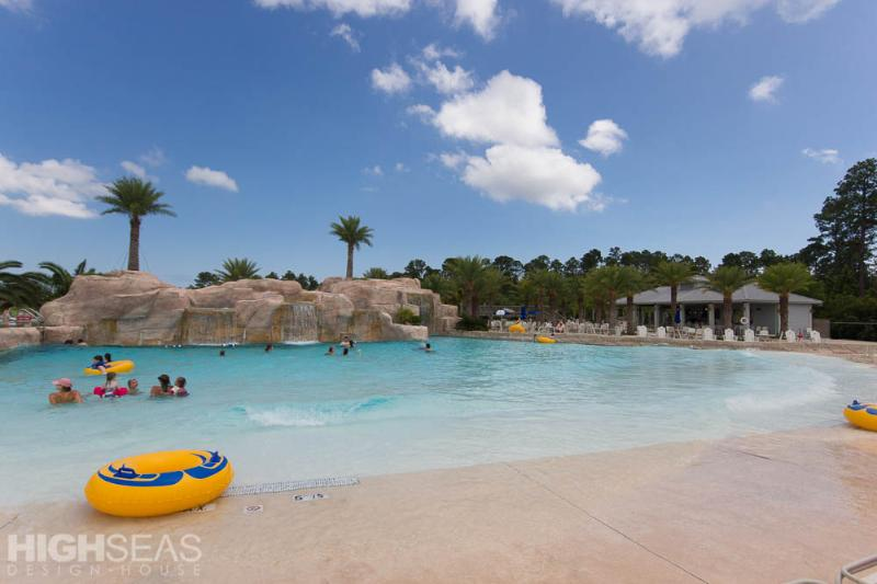 Lazy River at Complimentary Oasis Waterfront Center - Fun for All Ages at The Wharf 509 - Orange Beach - rentals