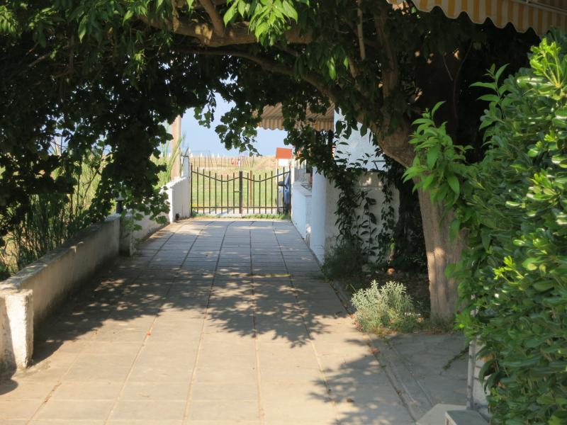 Main entrance - New renovated apartment for four people  in Chalkidiki, Fourka - Kalandra - rentals