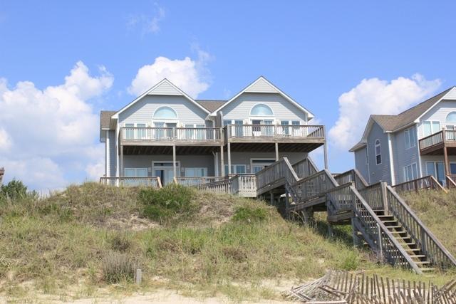 Oceanfront Exterior - Cottage East-SAT 4BR - Emerald Isle - rentals