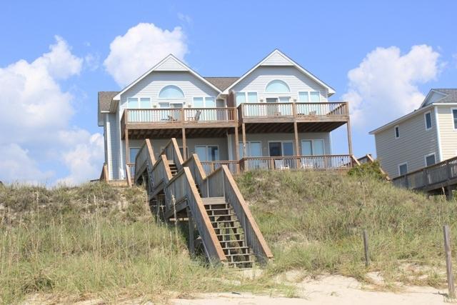 Oceanfront Exterior - Kilpatrick East- SAT 4BR - Emerald Isle - rentals