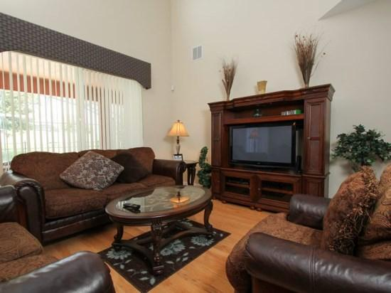 Impressive 7 Bedroom Pool & Spa Home That Sleeps 16 In Style. 2740LKD - Image 1 - Orlando - rentals
